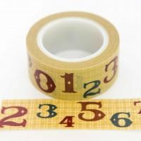 numbers-washi-tape